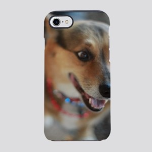 WElsh corgi up closeportrait iPhone 7 Tough Case