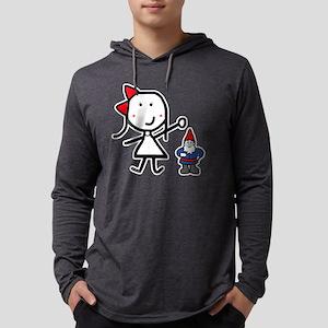 gnome_liz Mens Hooded Shirt