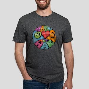 make-love-col-T Mens Tri-blend T-Shirt