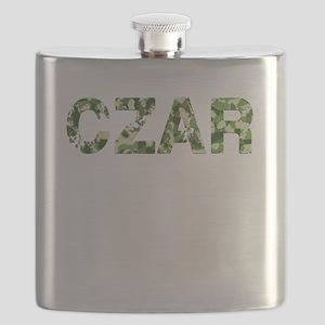 Czar, Vintage Camo, Flask