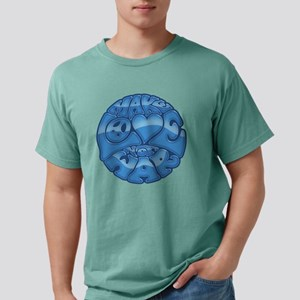 make-love-blu-T Mens Comfort Colors Shirt