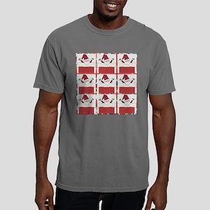 Santa's Ugly Christmas S Mens Comfort Colors Shirt
