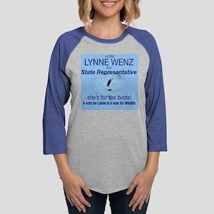 lynne Womens Baseball Tee