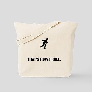 Rollerblading Tote Bag