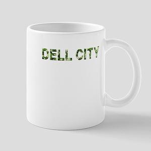 Dell City, Vintage Camo, Mug