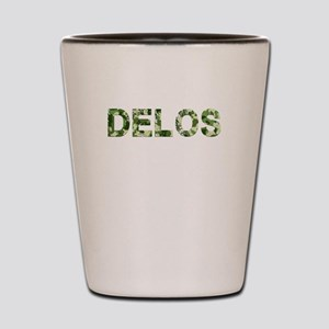 Delos, Vintage Camo, Shot Glass