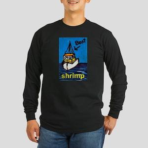 Shrimp Boat Long Sleeve Dark T-Shirt