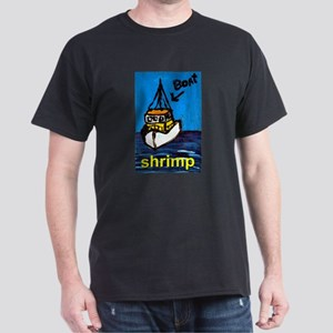 Shrimp Boat Dark T-Shirt