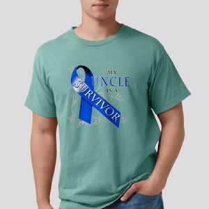 My Uncle is a Survivor Mens Comfort Colors Shirt