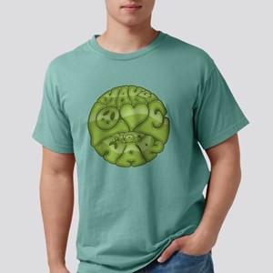 make-love-grn-T Mens Comfort Colors Shirt
