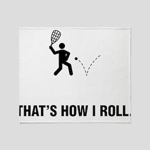 Racquetball Throw Blanket