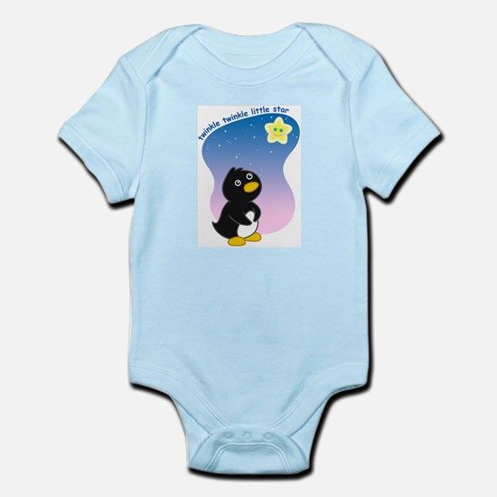Little Star Penguin Infant Bodysuit