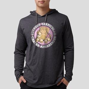 Support-Testicular-Cancer-Awaren Mens Hooded Shirt