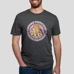 Support-Testicular-Cancer-A Mens Tri-blend T-Shirt