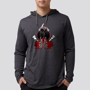 Dodge Mens Hooded Shirt