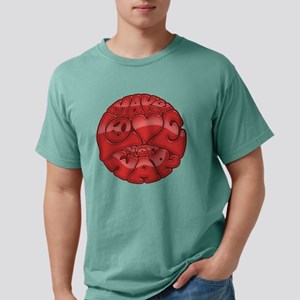 make-love-red-T Mens Comfort Colors Shirt