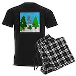 Merry Christmas! Men's Dark Pajamas