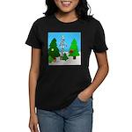Merry Christmas! Women's Dark T-Shirt