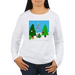 Merry Christmas! Women's Long Sleeve T-Shirt