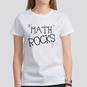 Math Rocks Women's T-Shirt