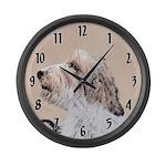 Petit Basset Griffon Vendéen Large Wall Clock