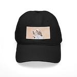 Petit Basset Griffon Vendéen Black Cap with Patch