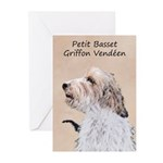 Petit Basset Griffon Ven Greeting Cards (Pk of 10)