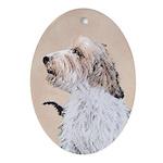 Petit Basset Griffon Vendéen Oval Ornament