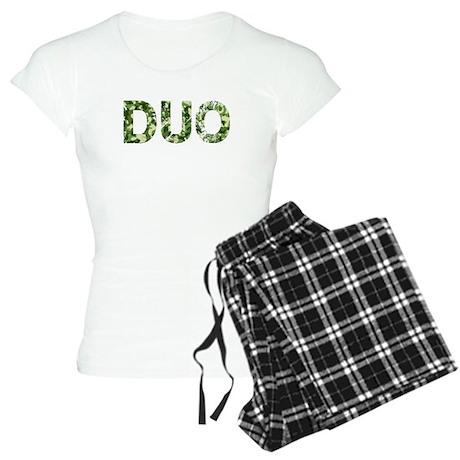 Duo, Vintage Camo, Women's Light Pajamas