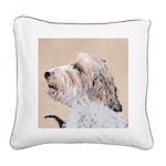 Petit Basset Griffon Vendéen Square Canvas Pillow