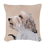 Petit Basset Griffon Vendéen Woven Throw Pillow