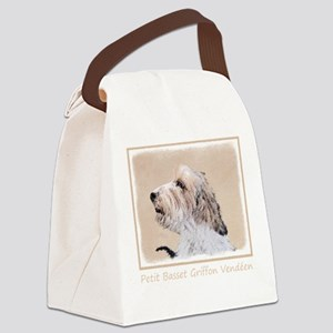 Petit Basset Griffon Vendéen Canvas Lunch Bag