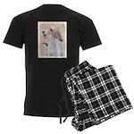 Petit Basset Griffon Vendéen Men's Dark Pajamas