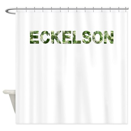 Eckelson, Vintage Camo, Shower Curtain