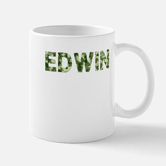 Edwin, Vintage Camo, Mug