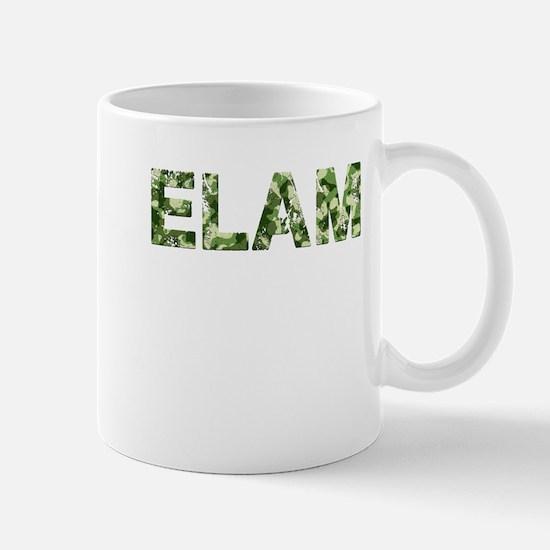 Elam, Vintage Camo, Mug