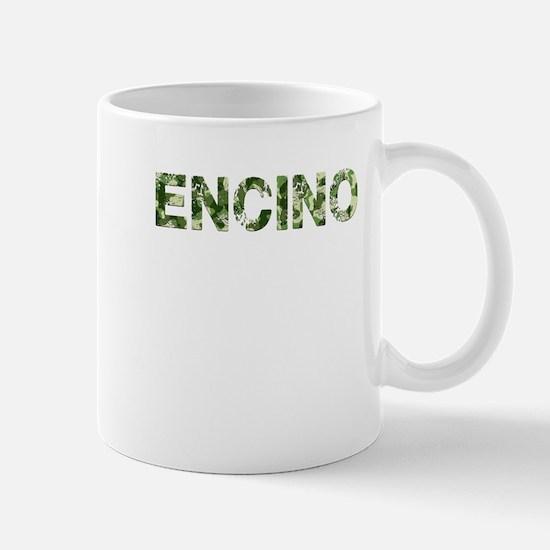 Encino, Vintage Camo, Mug