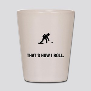 Lawn Bowl Shot Glass