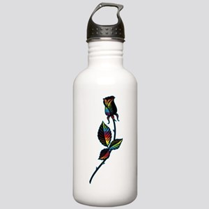 Gay Black Rose Stainless Water Bottle 1.0L