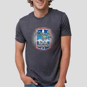 172nd-infantry-2009 Mens Tri-blend T-Shirt
