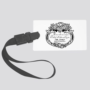 Mr Darcy Pride and Prejudice Large Luggage Tag