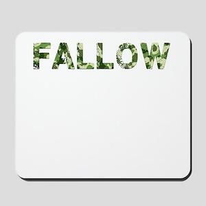 Fallow, Vintage Camo, Mousepad