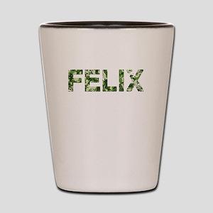 Felix, Vintage Camo, Shot Glass