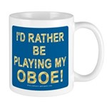 Playing Oboe Mug