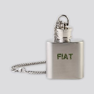 Fiat, Vintage Camo, Flask Necklace