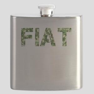 Fiat, Vintage Camo, Flask