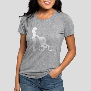 2-mybaby_white_l Womens Tri-blend T-Shirt