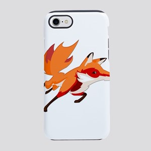 Sly Red Fox Running iPhone 7 Tough Case