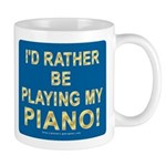 Playing Piano Mug