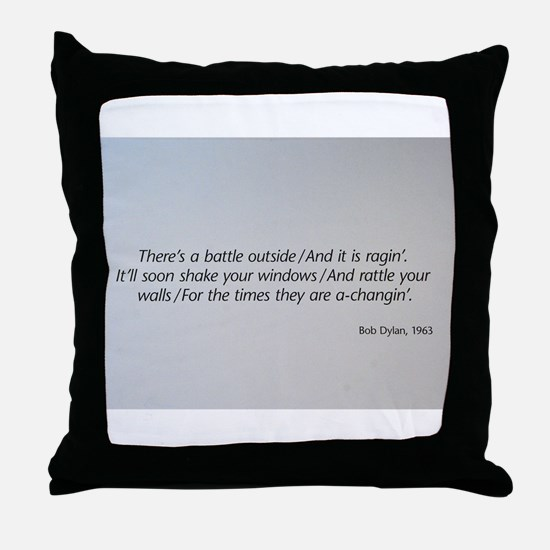 The 1960s Throw Pillow
